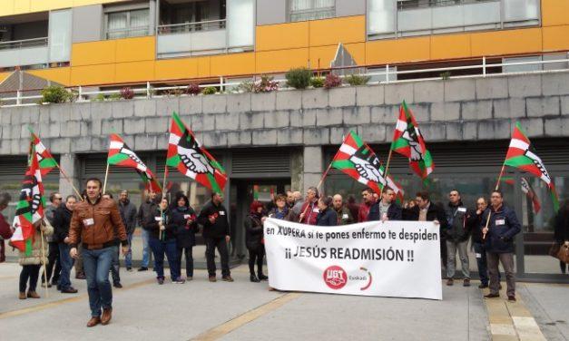 El lunes nueva concentracion de UGT en Barakaldo, en protesta por despido de delegado por estar enfermo en Xupera XXI