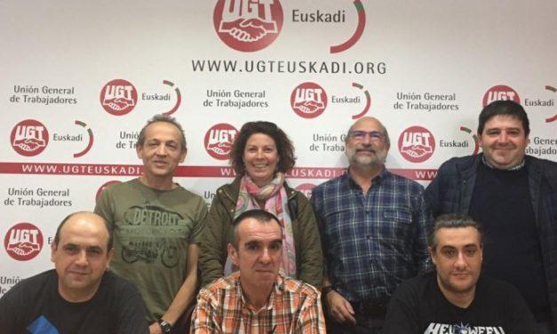 José Luis García Olazabal dirigirá el sector de Transporte de la FeSMC de UGT-Euskadi