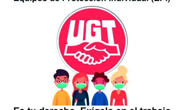 UGT reclama mascarillas FFP2 para las plantillas de comedores escolares