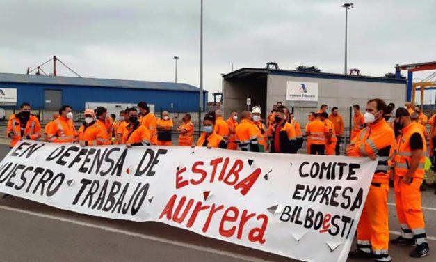 Los sindicatos esperarán a NO ejercer el derecho a huelga a que Bilboestiba acepte la hoja de ruta del Ministerio para una solución negociada del conflicto